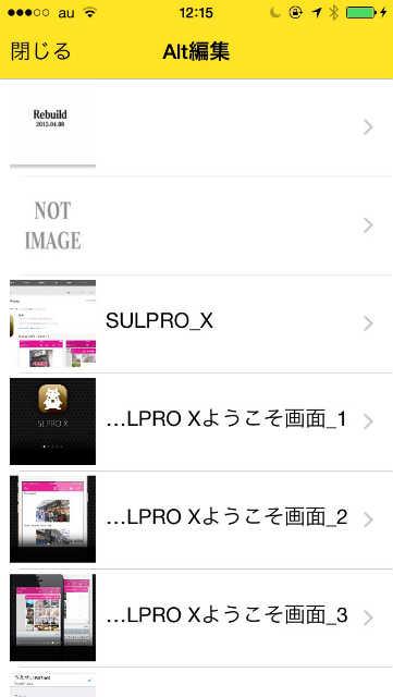 SULPRO_X_ALT編集