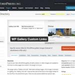 WordPress ギャラリー