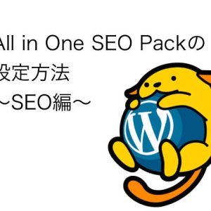 All_in_one_seo 設定