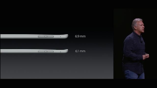iPad Pro 薄さ