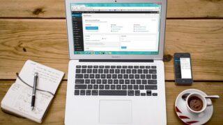 WordPress ノートパソコン