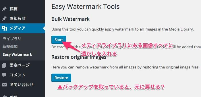 Easy Watermark過去の画像に挿入