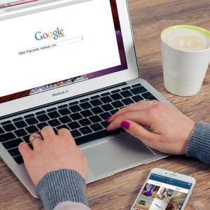 Googleで検索する人