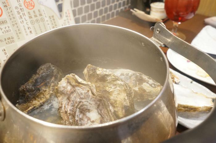 牡蠣やかん
