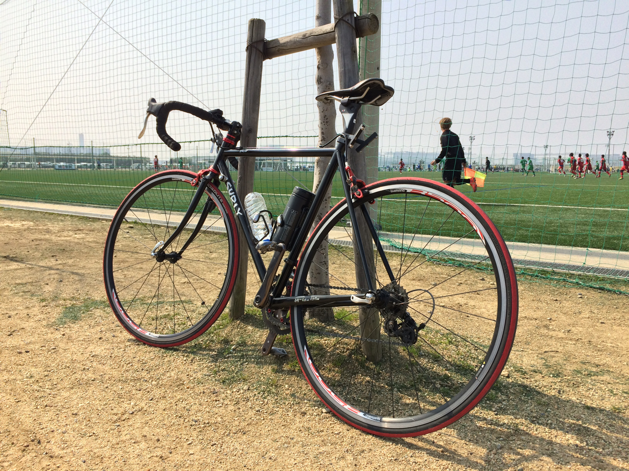 J-GREEN堺と自転車