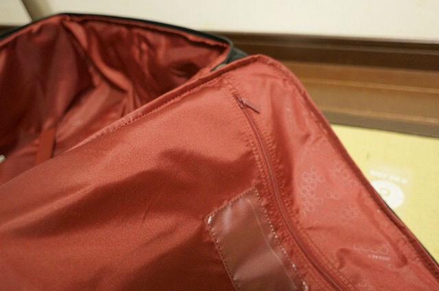 デルセー キャリーバッグ 内ポケット