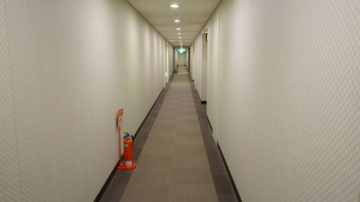 スパワールドホテル廊下