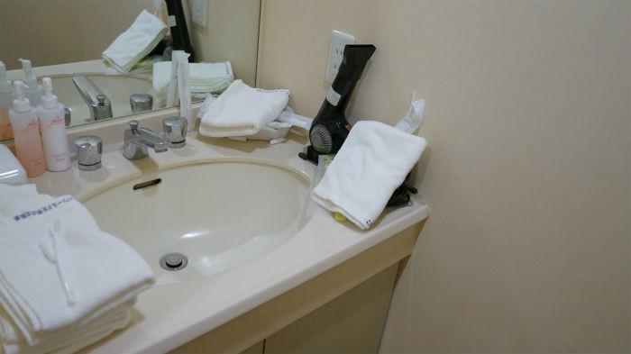 部屋の洗面