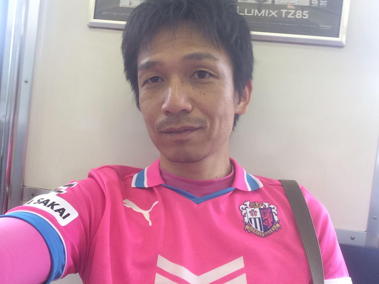 うえせいセレッソ大阪ジャージ