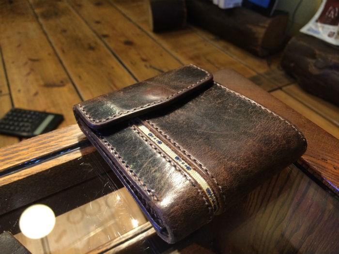 財布の経年変化1
