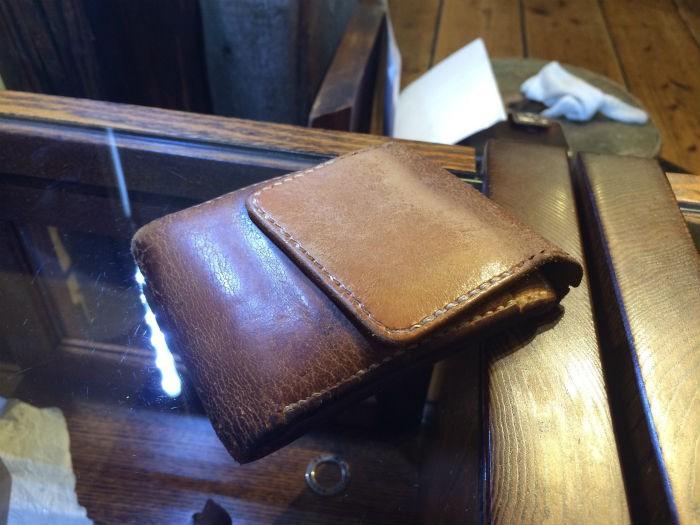 財布の経年変化2