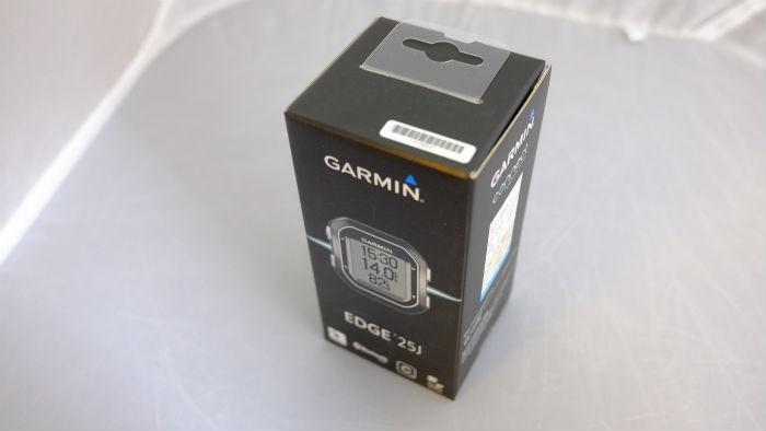 ガーミン edge25j 箱