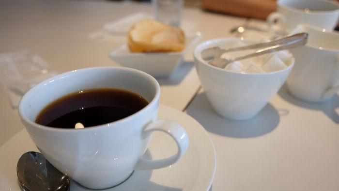 ティアラカフェのコーヒー