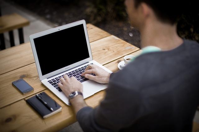 ブログを書く作業