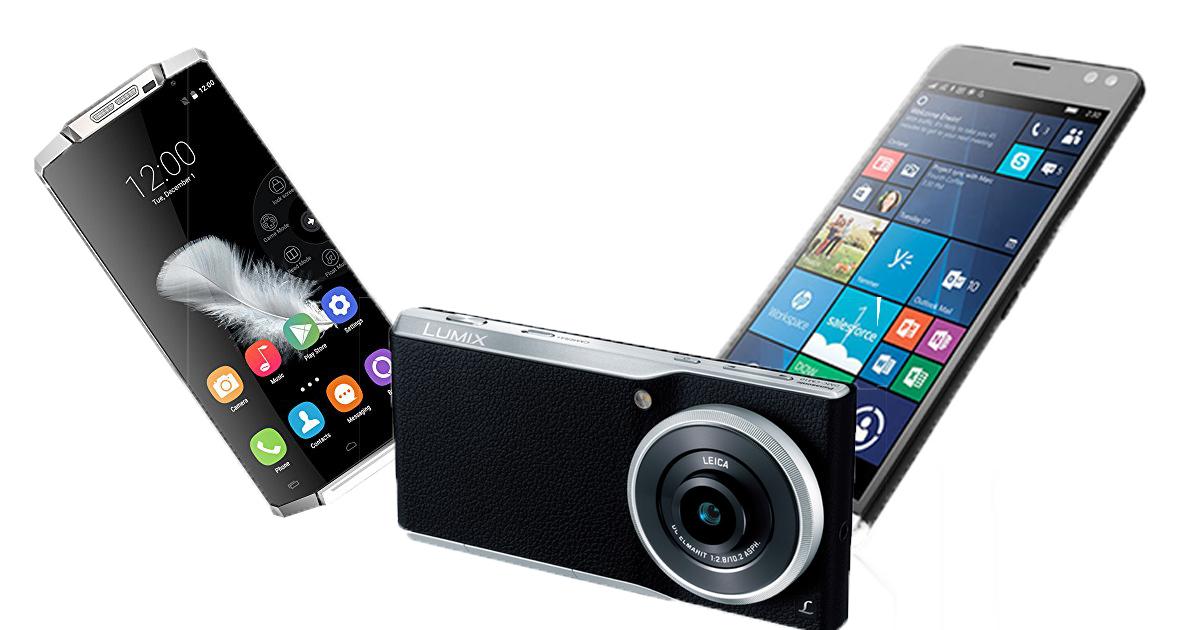スマートフォン3機種
