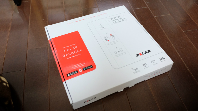 POLAR Balance scale 外箱
