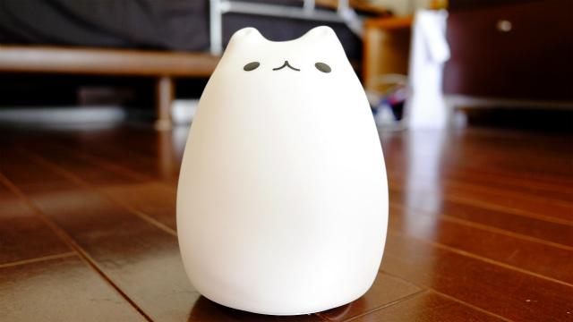 猫型LEDライト