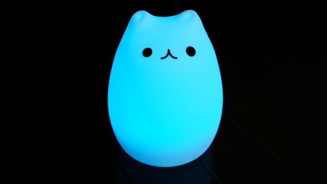 猫型LED青