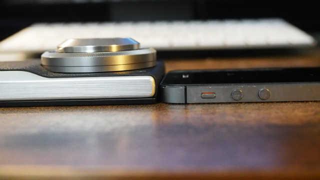 CM10 iphone5s厚み