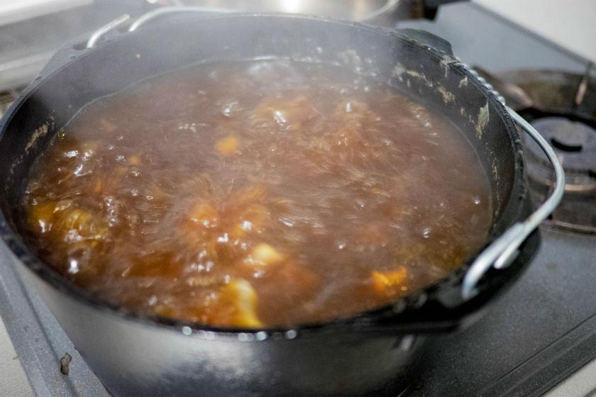 ダッチオーブン焦げ