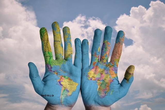 グローバルの手