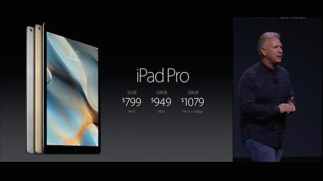 iPad Pro 価格