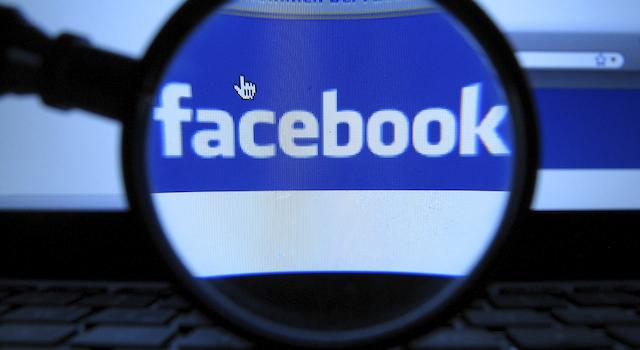 facebookのぞき見