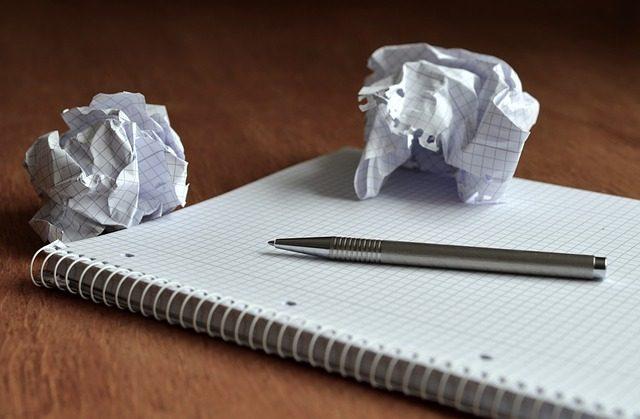 計画を書くノート