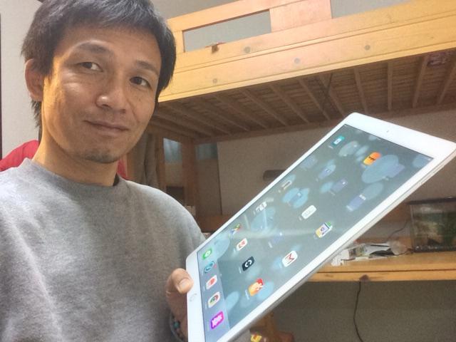 iPad Proを持ってみる
