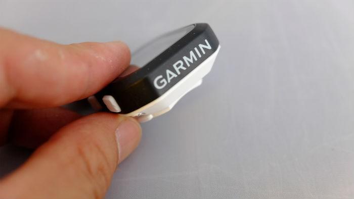 ガーミン edge25j 側面
