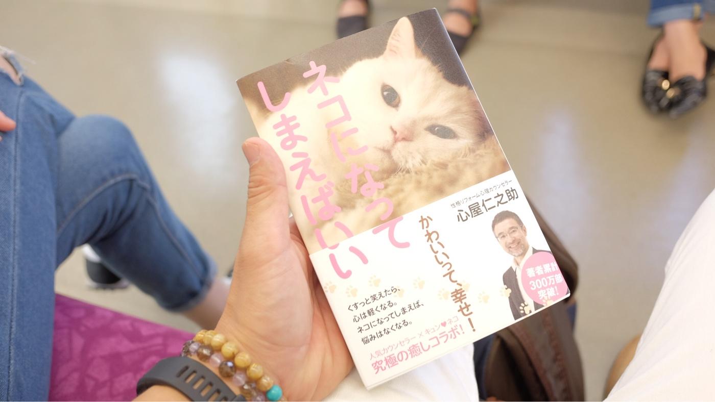 心屋仁之助著「猫になってしまえばいい」の書評