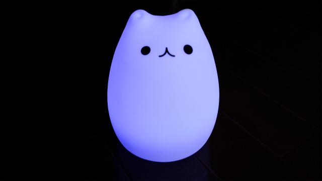 猫型LED紫