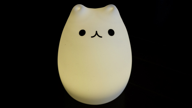 猫型LED黄色