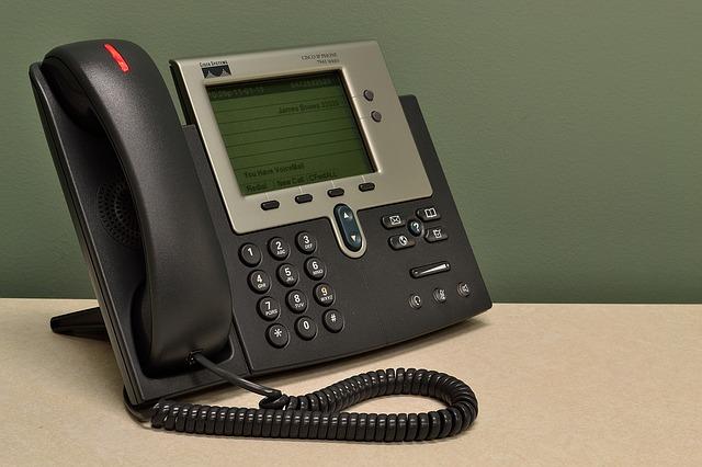サポートセンターの電話