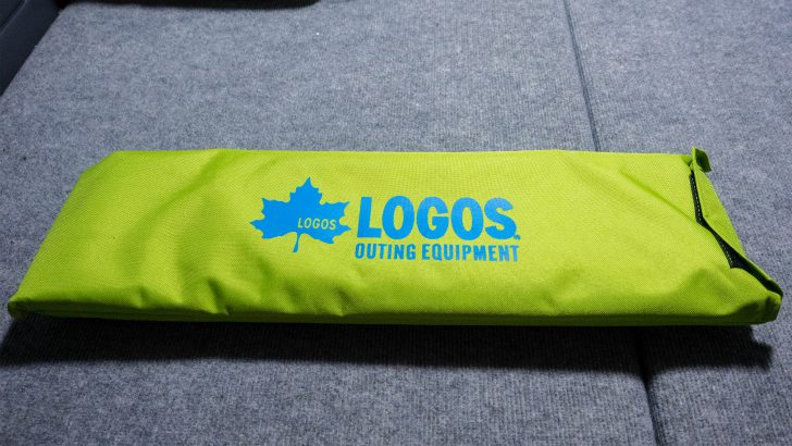 LOGOS(ロゴス)のコンパクトキャンプベッド-N箱の中身