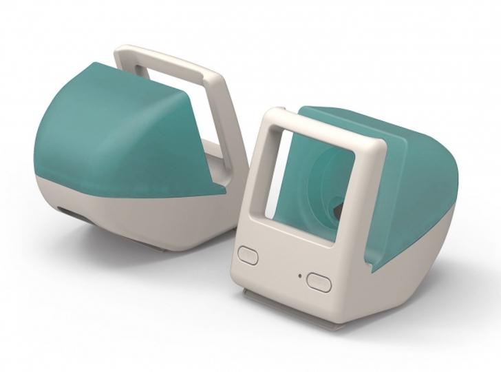 初代iMac風充電スタンド