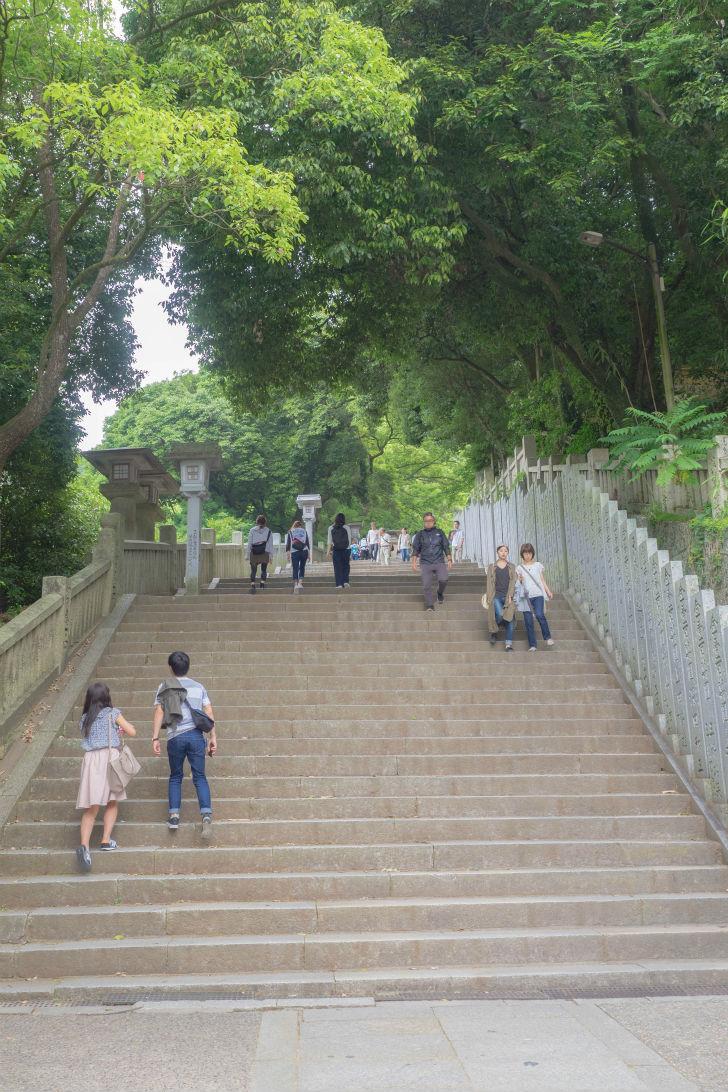 さらに階段は続く