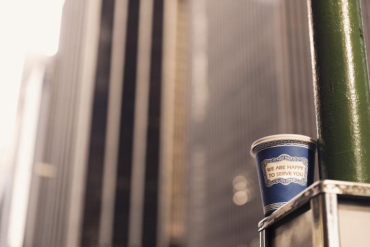 カップに入ったコーヒー