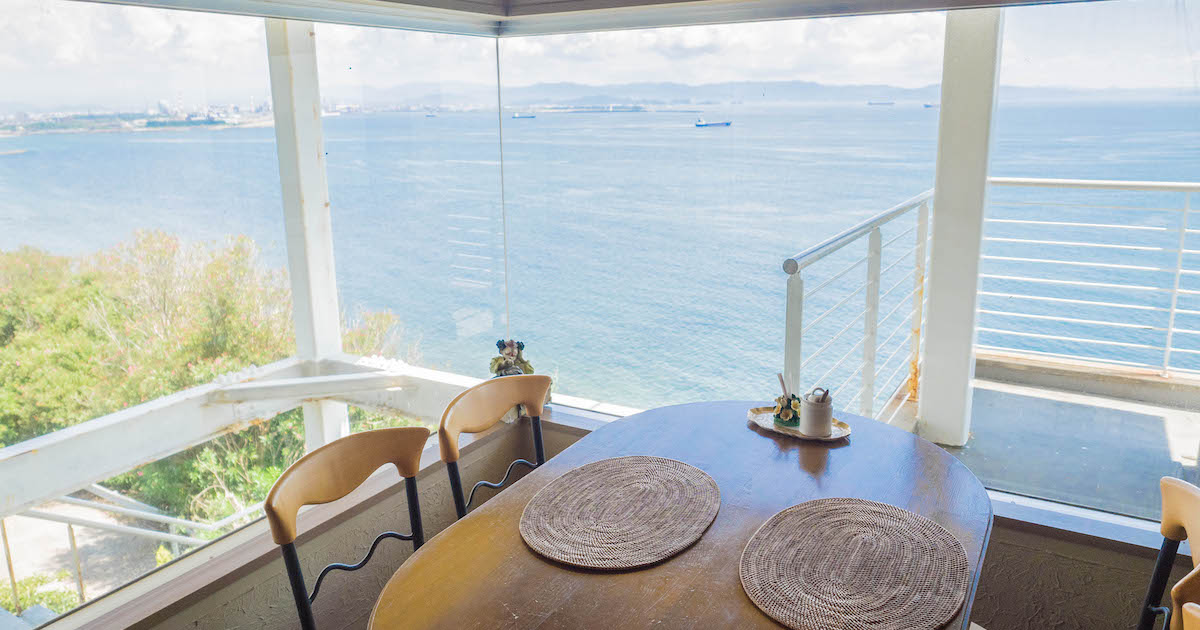 カフェきららから見える景色