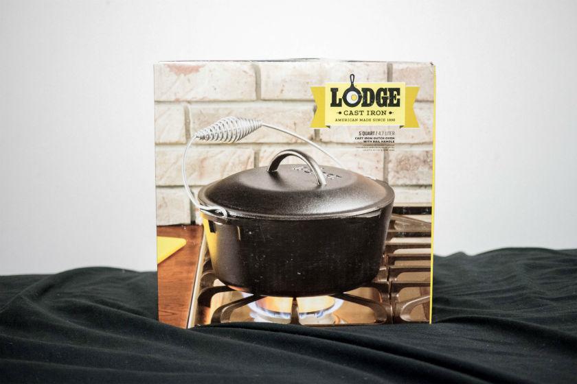 LODGEダッチオーブン箱