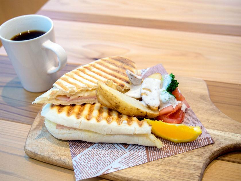 IMANO GINZA HOSTELの朝食