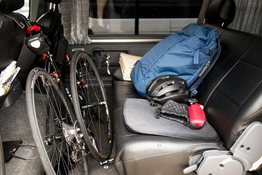 自転車は車内積み