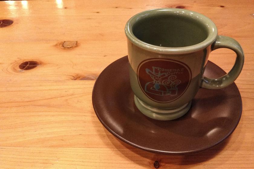 コメダ珈琲コーヒーカップ