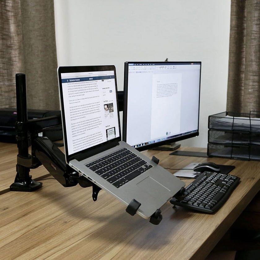 モニターアーム&ノートパソコンスタンド