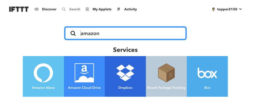 amazonを検索