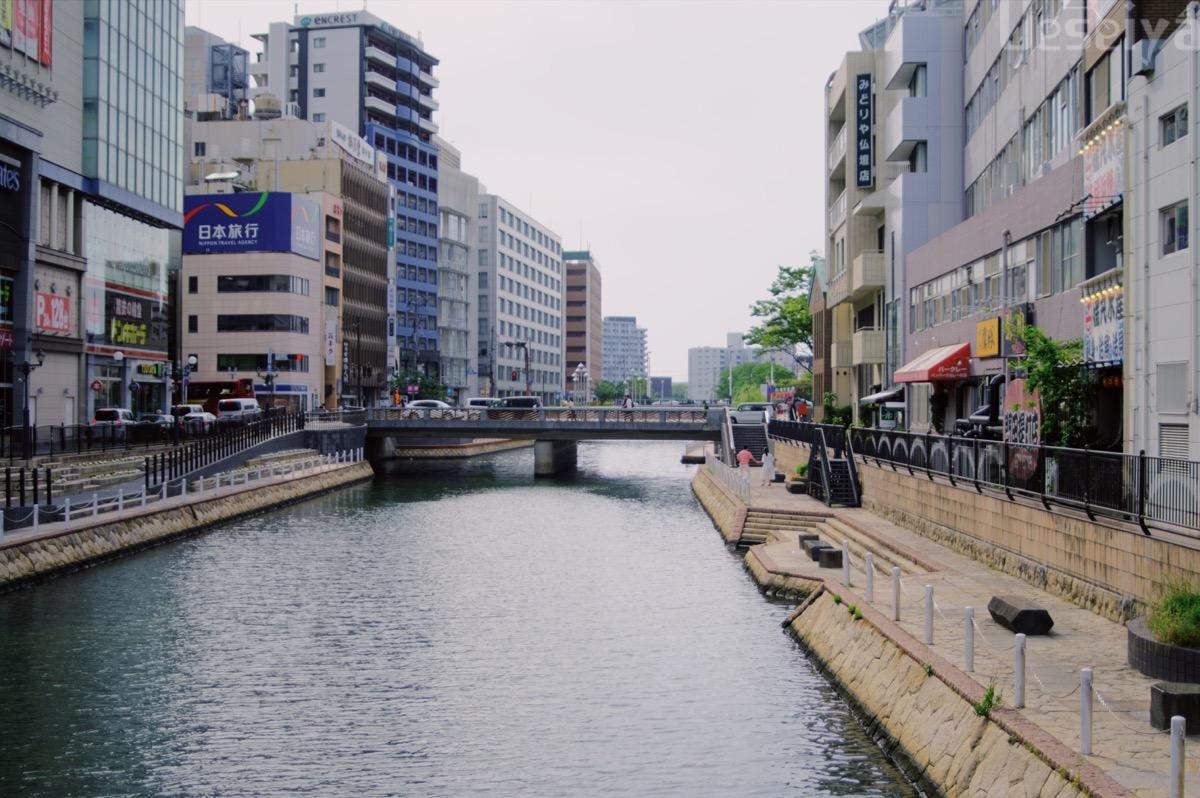 中洲周辺の川